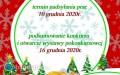 Konkurs na kartkę bożonarodzeniową zbiłgorajskim motywem