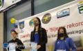 Pływacy Sparty na zawodach wWarszawie iOświęcimiu