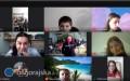 Podróżują po Europie on-line