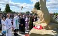 Odsłonięcie pomnika poświęconego pomordowanym mieszkańcom gminy Turobin