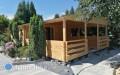 Jak zamknąć się wkoszcie 100 tys za 35 m2 domku drewnianego całorocznego?