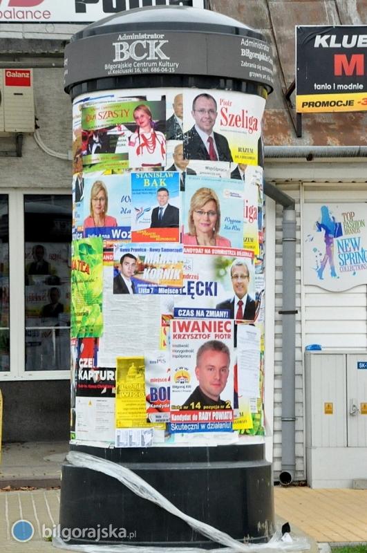 Biłgoraj Zalały Plakaty Wyborcze Bilgorajskapl Kampania